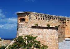 Malta fortress. Malta capital Valetta old fortress Royalty Free Stock Photo