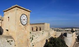 Malta fortress. Medieval fortress of Gozo Island, Malta Stock Photo