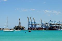 Malta Freeport Arkivbild