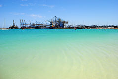 Malta Freeport, Birżebbuġa Royalty Free Stock Photo