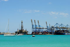 Malta Freeport Stock Photography