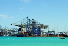 Malta Freeport Royalty Free Stock Photos