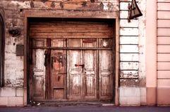 Malta garagedörröppning Royaltyfri Foto
