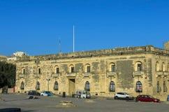 Malta gator av Floriana Arkivfoto