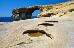 Malta Gozo Obrazy Royalty Free