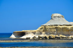 Malta Gozo Royaltyfria Foton