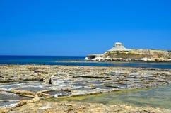 Malta Gozo Arkivbilder