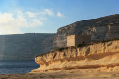 Malta. Gozo. Fuerte viejo Fotografía de archivo libre de regalías