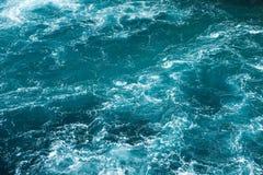 Malta and Gozo islands as tourist destinations. Hazardous waves on the mediterranean sea Royalty Free Stock Photos