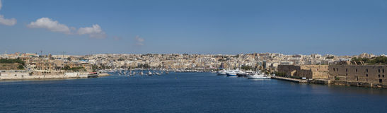 Malta Grand Harbor Royalty Free Stock Image
