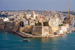 Malta Grand Harbour Royalty Free Stock Photography