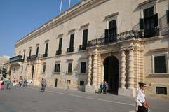 Malta, the great master palace of Valetta. Republic of Malta, the presidential palace of Valetta Royalty Free Stock Photos