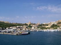 Malta habour stock fotografie