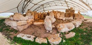 Malta, Hagar Quim Temple Royalty Free Stock Photography