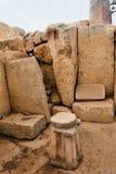 Malta, Hagar Quim Temple Stock Image