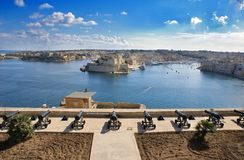 Malta Harbor Stock Image