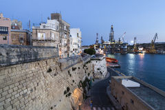 Malta harbor Stock Photo