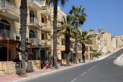 Malta, het schilderachtige Eiland Gozo Stock Afbeeldingen