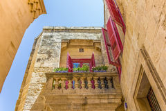 Malta House. House in an alley on the island of Malta Royalty Free Stock Images