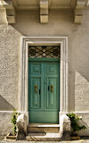Malta House of Character. Typical features on a facade of a house in Malta Royalty Free Stock Image
