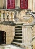 Malta House of Character. Front stairway to villa in Malta Stock Photos