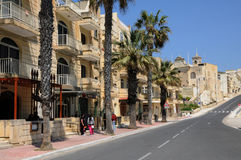 Malta, a ilha pitoresca de Gozo Imagens de Stock