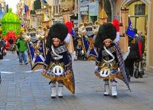 Malta karnawał 2014 w Valletta fotografia stock