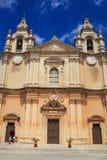 malta katedralny st Paul s zdjęcia royalty free