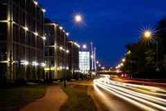 malta kontorspark poznan Fotografering för Bildbyråer