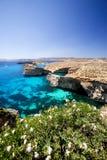 Malta krajobrazu Zdjęcie Stock