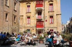 Malta, la città pittoresca di La Valletta Immagini Stock Libere da Diritti
