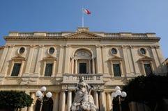 Malta, la ciudad pintoresca de La Valeta Fotografía de archivo