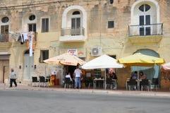 Malta, la ciudad pintoresca de Marsaxlokk Imágenes de archivo libres de regalías