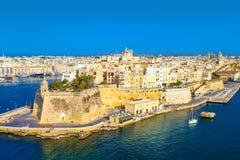 Malta La valletta Royaltyfria Foton