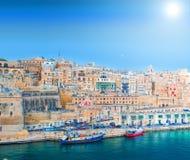 Malta La valletta Arkivbild