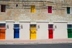 Malta, La Valletta historic port Royalty Free Stock Image