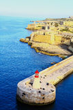 Malta, La valletta. A view of the beautiful Malta La valletta Stock Image
