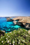 Malta Landscape. Landsacpe of Comino and Gozo islands Stock Photo