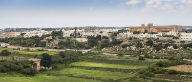 Malta landscape. Beautiful typical landscape in Malta Royalty Free Stock Photo