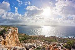 Malta. Landscape on Malta island with the sea and a nice skyMalta Stock Photos
