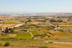 Malta-Landschaft, Mdina Lizenzfreie Stockbilder