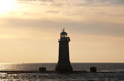 Malta Lighthouse. A lighthouse on the mediterranean island Malta royalty free stock image