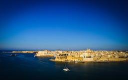 Malta, los angeles Valletta Obrazy Royalty Free