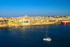 Malta, los angeles Valletta Zdjęcia Stock