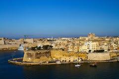 Malta, los angeles Valletta Fotografia Royalty Free