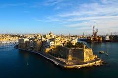 Malta, los angeles Valletta Zdjęcia Royalty Free
