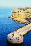 Malta, los angeles Valletta Obraz Stock