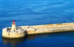 Malta, los angeles Valletta Obraz Royalty Free
