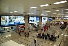 Malta Lotniskowy Międzynarodowy Terminal Fotografia Stock