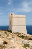Malta - 10. Mai 2017: Uhr-Turm Lizenzfreies Stockbild